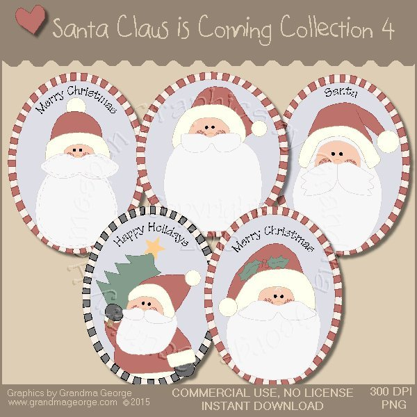 Santa Claus is Coming Country Graphics Vol. 4