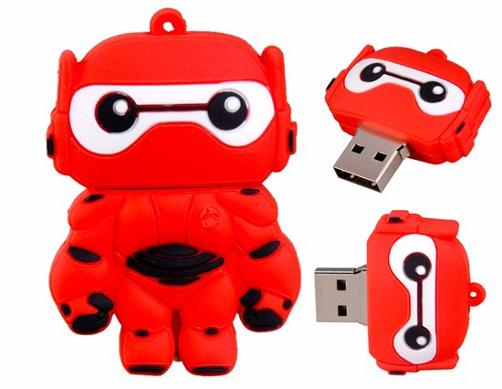 Baymax Suited Up Inspired 4GB Flash Drive