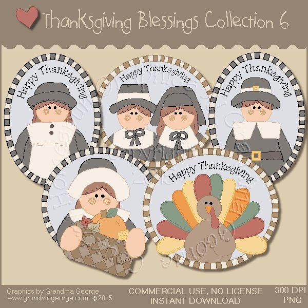 Thanksgiving Blessings Collection Vol. 6
