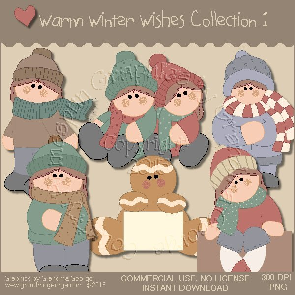 Warm Winter Wishes Collection Vol. 1