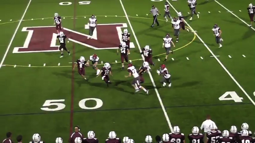Morristown-Beard vs. Newton football video highlights