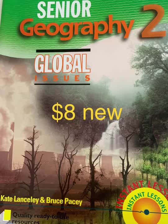 Senior Geography 2 - Global issues