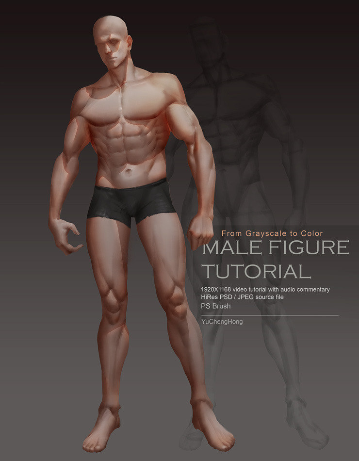 Paint Male Body Tutorial