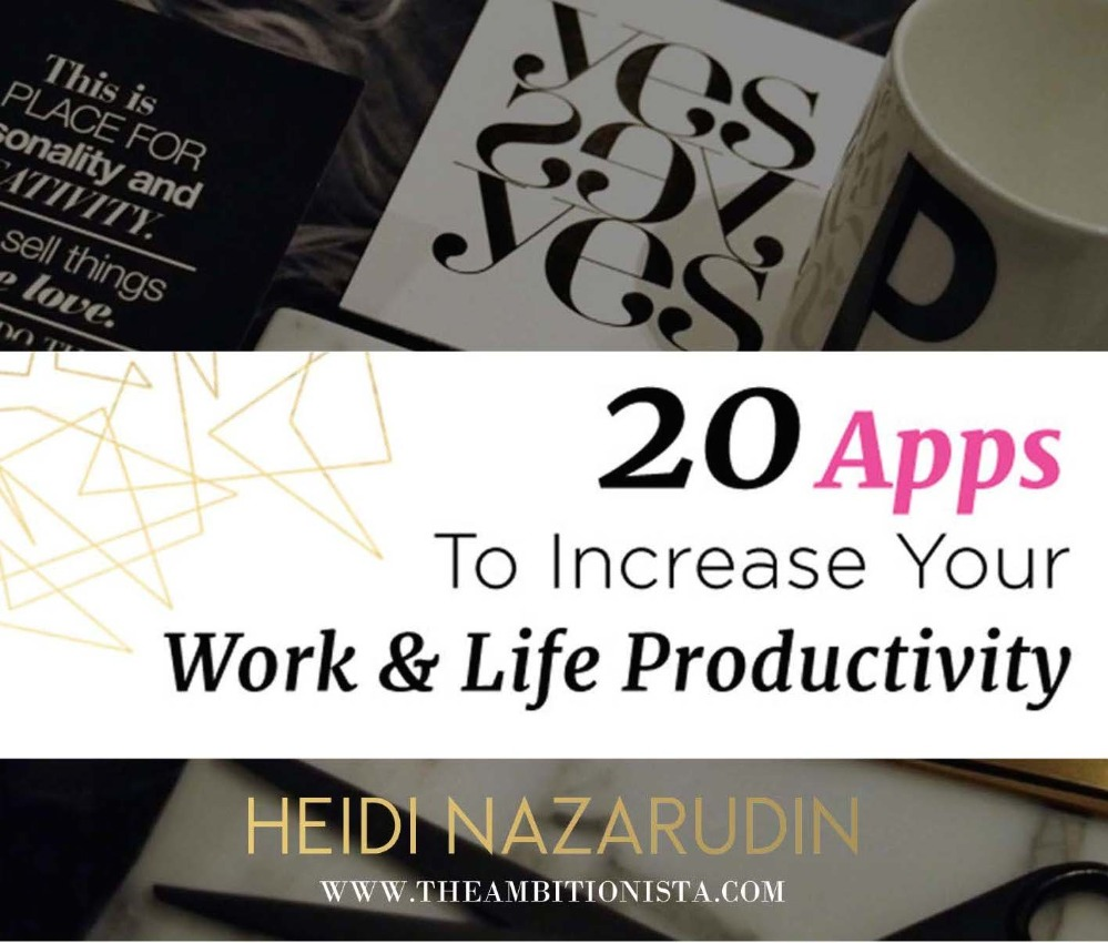 20 Apps For Productivity 2015
