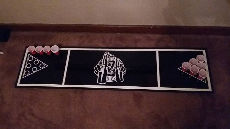 Bar-jutsu Shot Pong Table