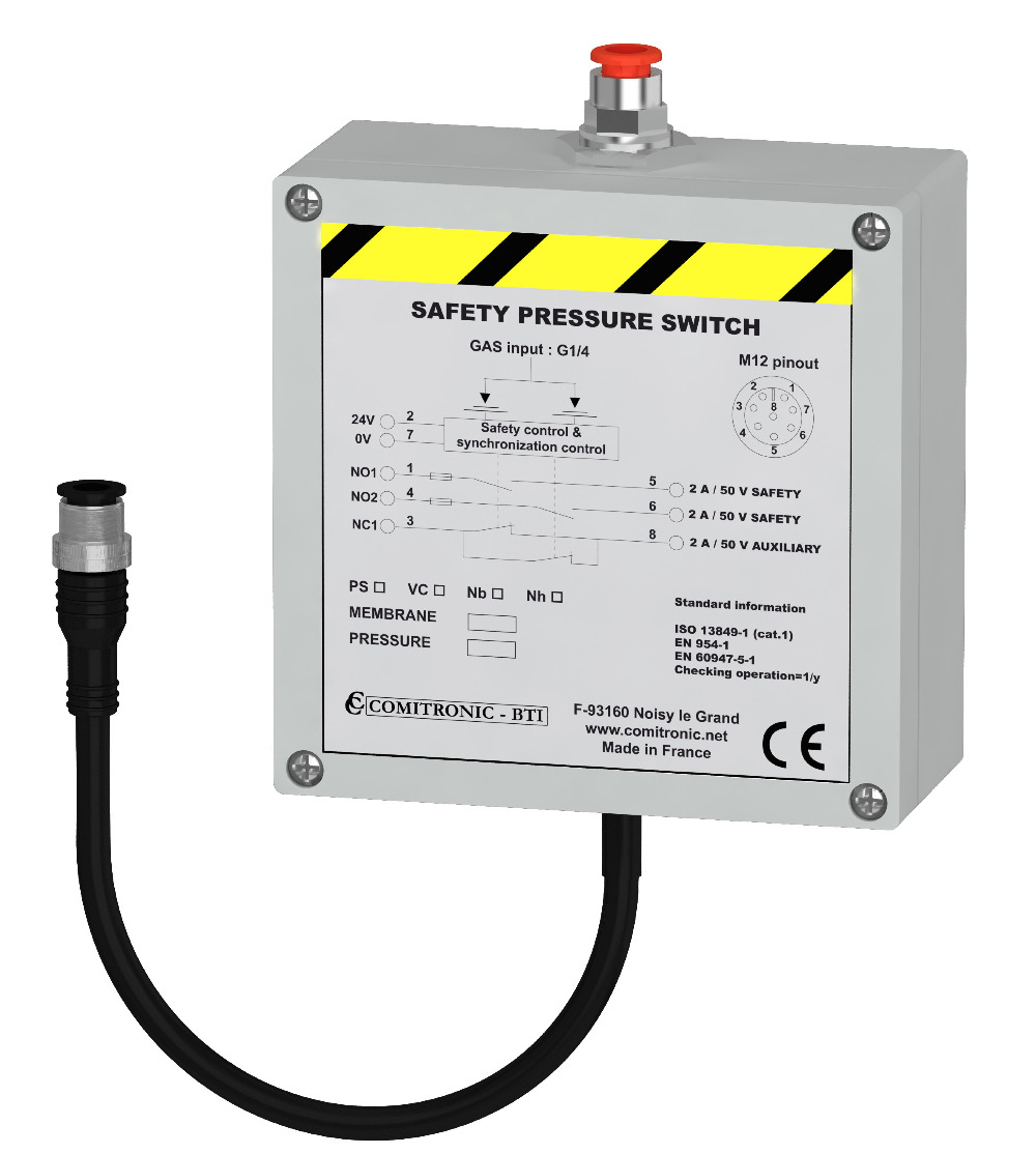 Pressostat pack photos products