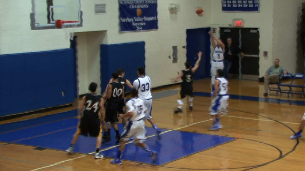 Demarest vs. Bergen Tech boys' basketball video highlights