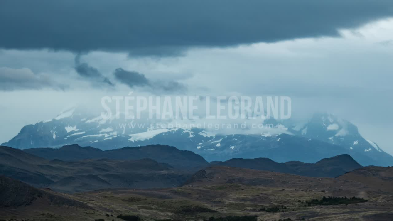 Torres del Paine, Chile, Timelapse  - The mountains before the Storm