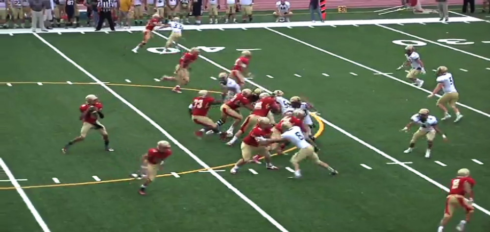 Bergen Catholic vs. La Salle College HS football video highlights
