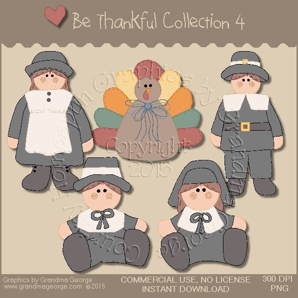 Be Thankful Collection Vol. 4