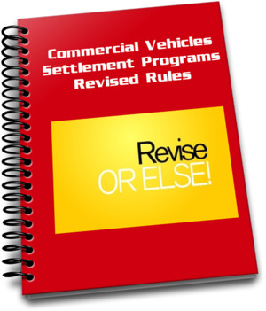 Commercial Vehicle Settlement Program