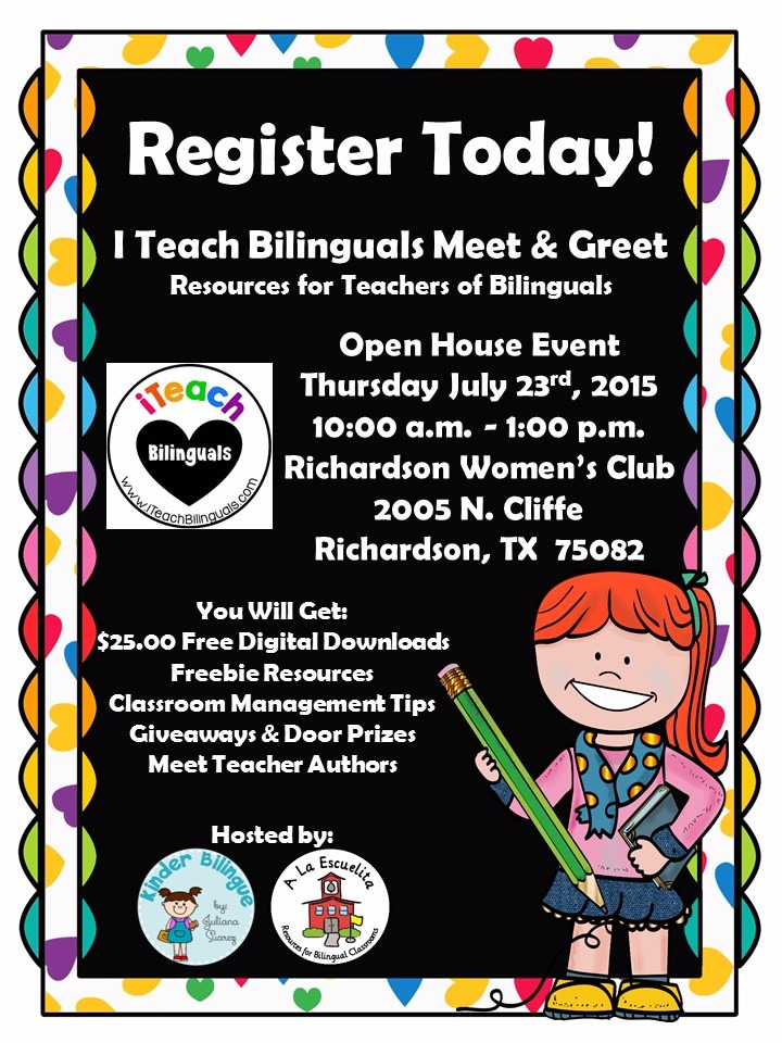 I Teach Bilinguals Meet & Greet