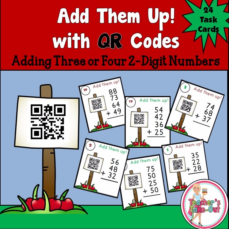 Add Them Up with QR Codes