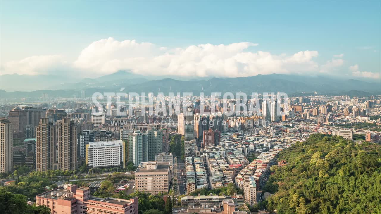 Taiwan | Downtown's Taipei Before the Sunset