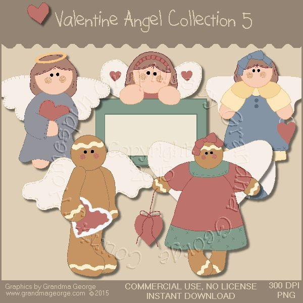 Valentine Angel Graphics Collection Vol. 5