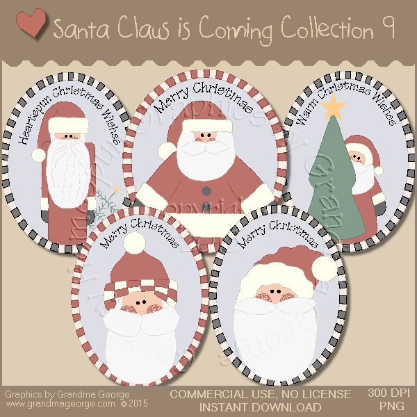 Santa Claus is Coming Country Graphics Vol. 9