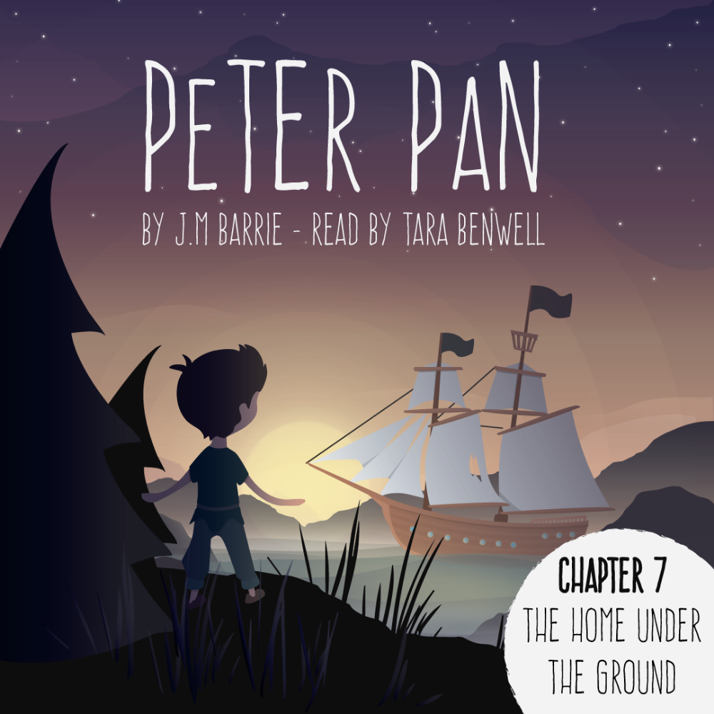 Peter Pan Audiobook - Chapters 7-12