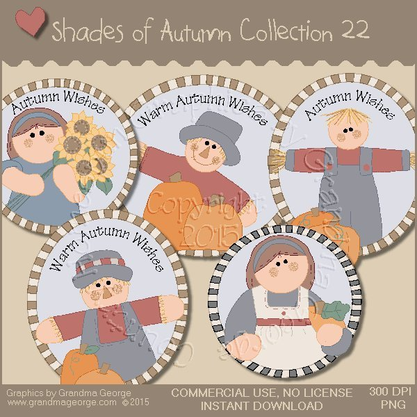 Shades of Autumn Graphics Collection Vol. 22