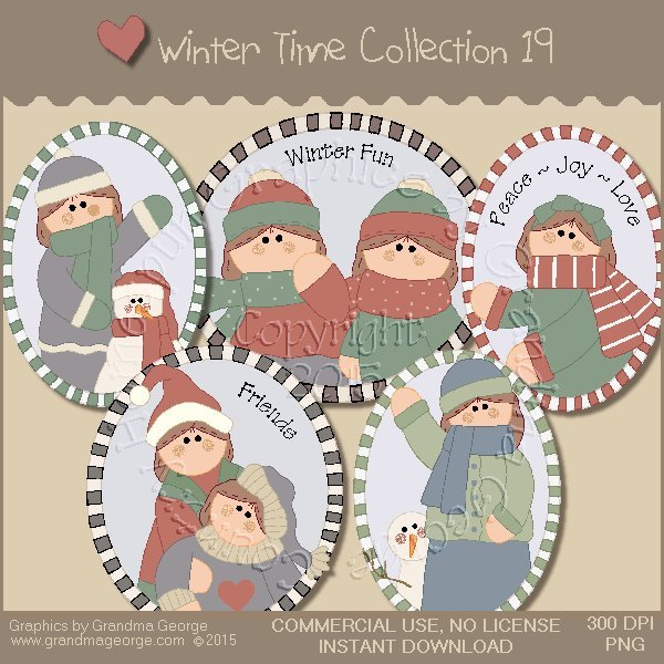 Winter Time Collection Vol. 19