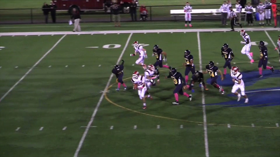 Glen Ridge vs. Belleville football video highlights