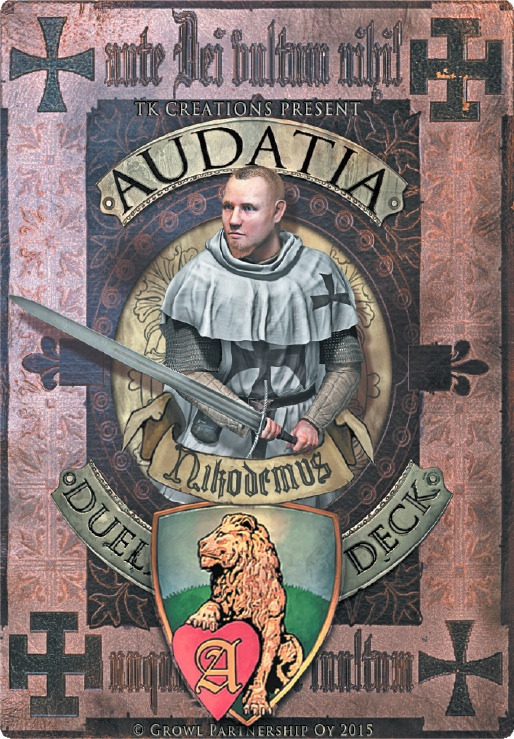 Audatia print and play deck: Nikodemus
