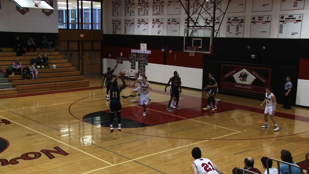 Hackensack vs. Northern Highlands boys' basketball video highlights
