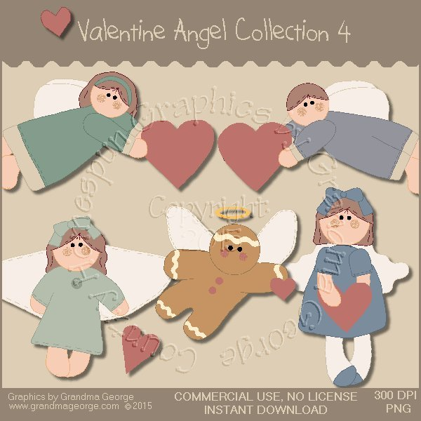 Valentine Angel Graphics Collection Vol. 4