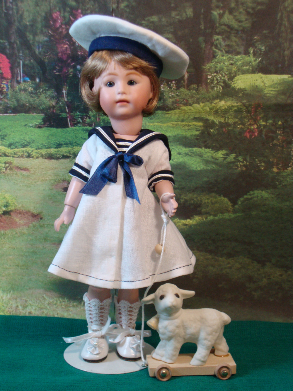 Loulotte Pattern Sailor Dress and Hat