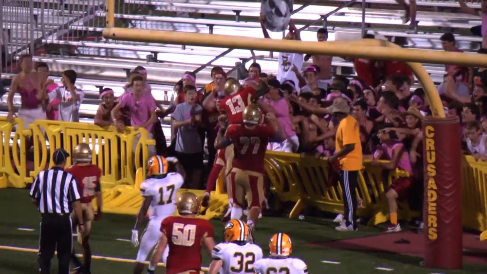Bergen Catholic vs. St. Edward football video highlights
