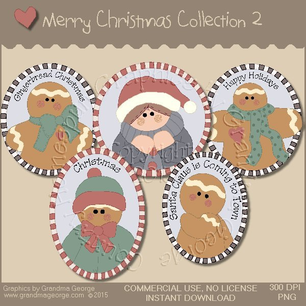 Merry Christmas Graphics Collection Vol. 2