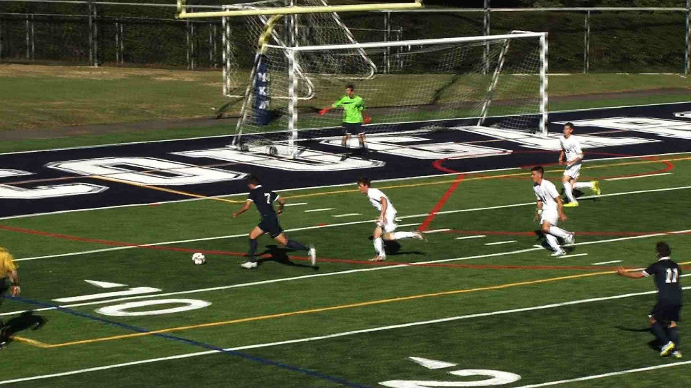 Montclair vs. Montclair Kimberley boys' soccer video highlights