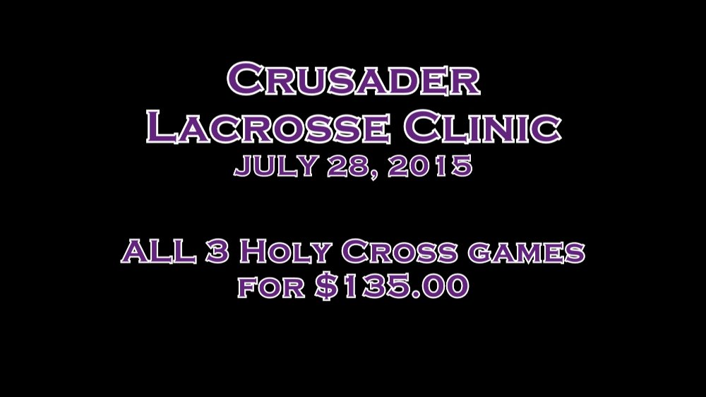 All 3 Holy Cross games