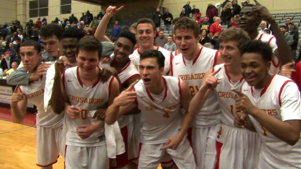 Bergen Catholic vs. Teaneck boys' basketball highlights