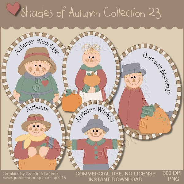 Shades of Autumn Graphics Collection Vol. 23