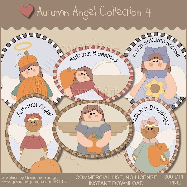 Autumn Angel Graphics Collection Vol. 4