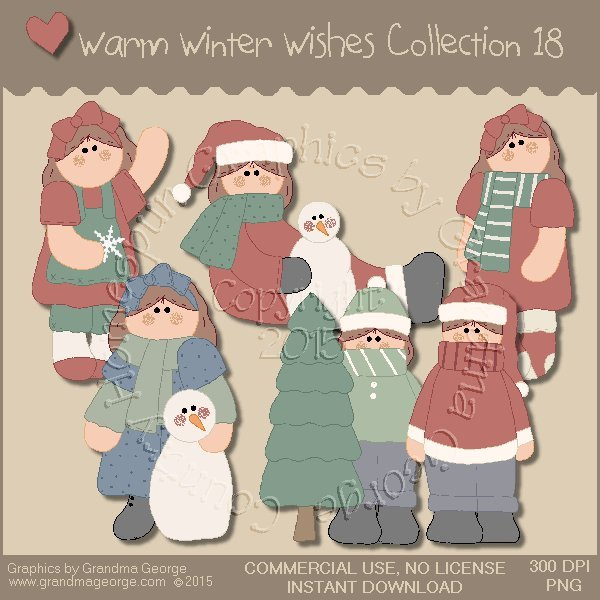 Warm Winter Wishes Collection Vol. 18