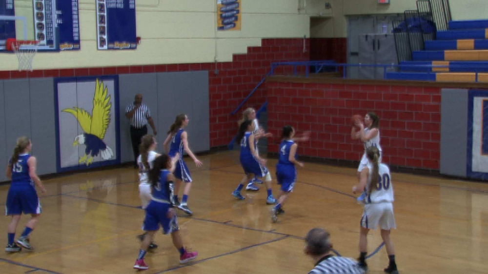 Eastern Christian vs. Mary Help girls' basketball video highlights