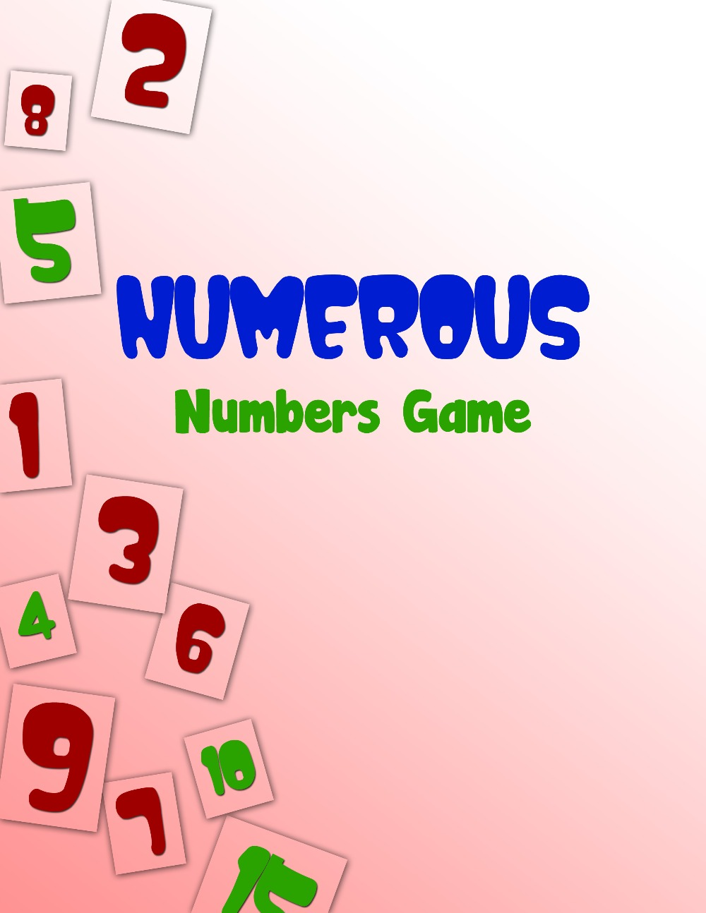 Numerous Numbers Game