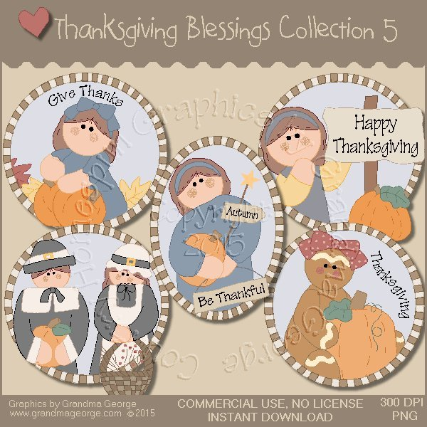 Thanksgiving Blessings Collection Vol. 5