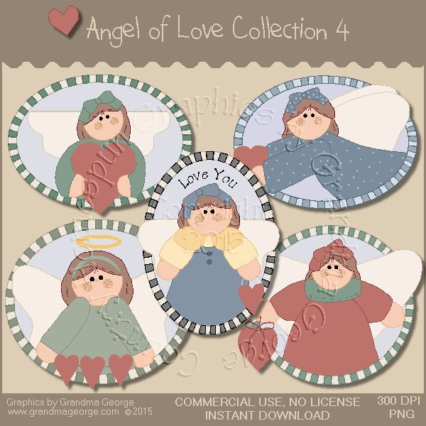 Angel of Love Graphics Collection Vol. 4