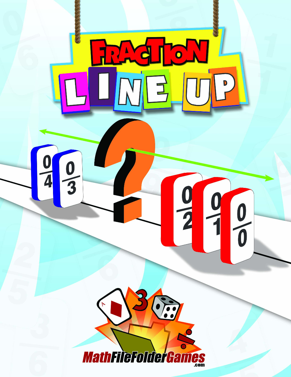 Fraction Line Up: Ordering Fractions Game