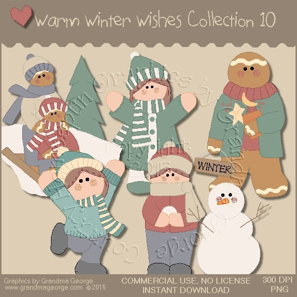 Warm Winter Wishes Collection Vol. 10