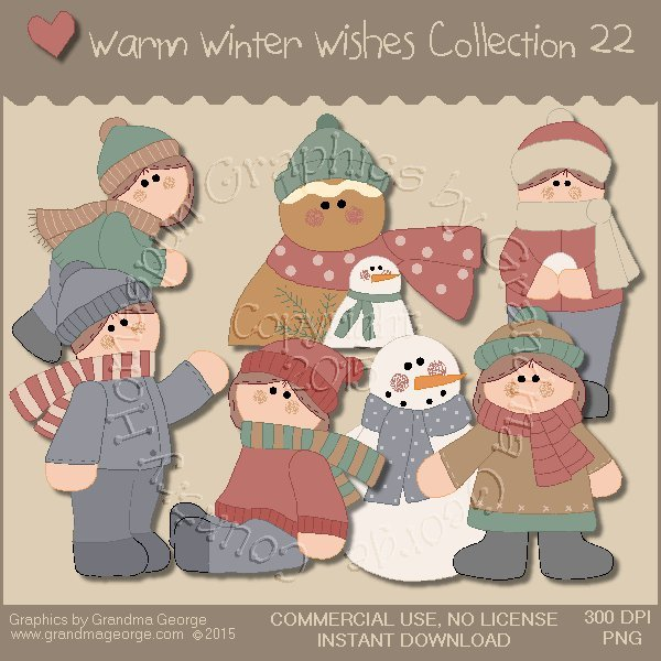 Warm Winter Wishes Collection Vol. 22