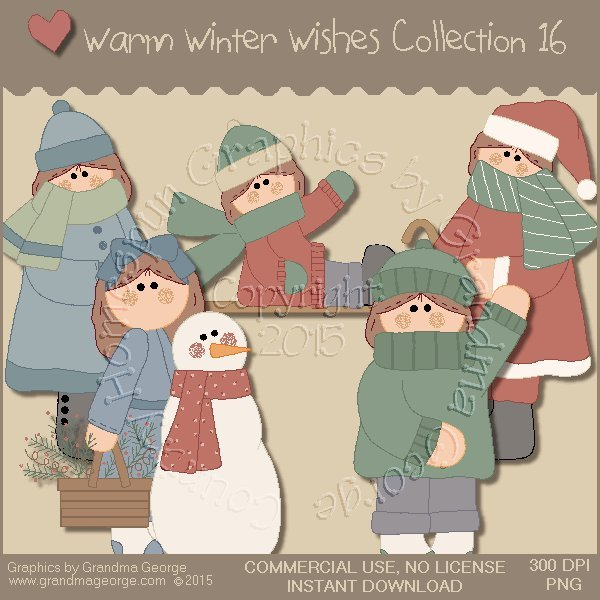 Warm Winter Wishes Collection Vol. 16