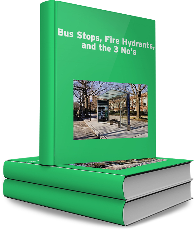 Bus Stops-Fire Hydrants-3 No's