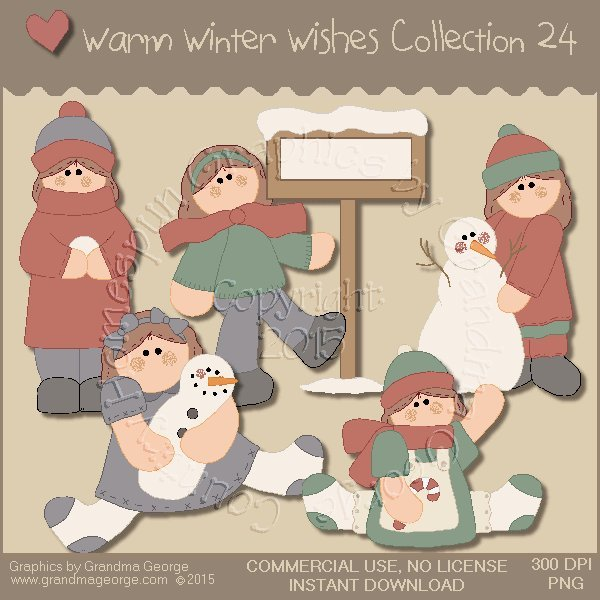 Warm Winter Wishes Collection Vol. 24