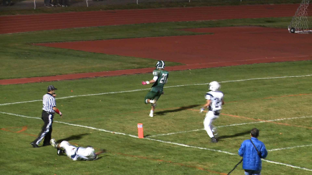 New Milford vs. Harrison football video highlights