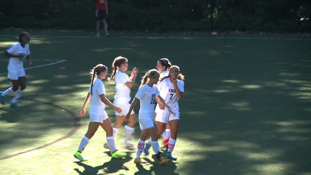 IHA vs. DePaul girls' soccer video highlights