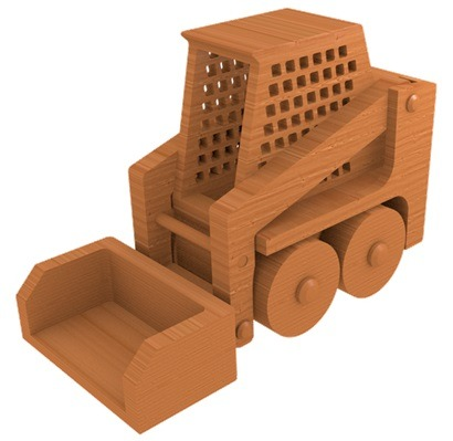 Wooden Skid Steer Loader Plans and Patterns