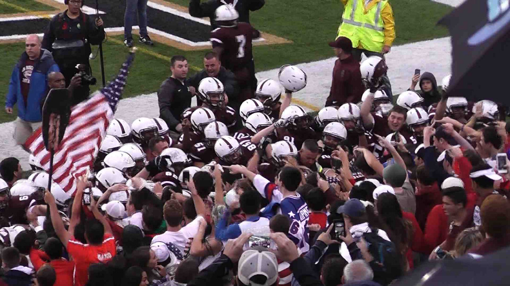 Don Bosco Prep vs. St. Thomas Aquinas football video highlights